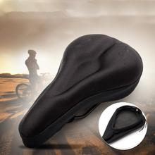 Road Cycling Mountain Bicycle Soft Silicone Pad Bike Saddle Gel Cushion Seat Cover Padded Comfortable Waterproof High Quality(China (Mainland))