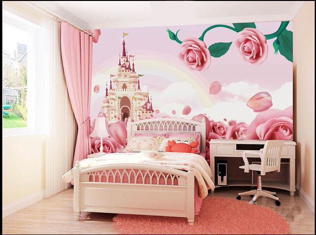 Achetez en gros ch teau papier peint en ligne des grossistes ch teau papier peint chinois - Deco muurschildering ...