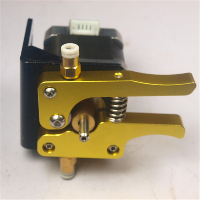 Super quality Reprap 3D printer for 17 nema stepper motor1 75 mm all metal aluminum golden