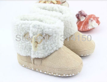 FREE SHIPPING----baby winter wear shoes boy/girl winter boots children snowboots toddler soft sole floor boots baby shoes 1pair