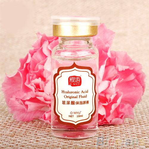 1Pc 10ML Anti-Aging Moisturizing Whitening Hyaluronic Acid Original Liquid HA 4E1F(China (Mainland))