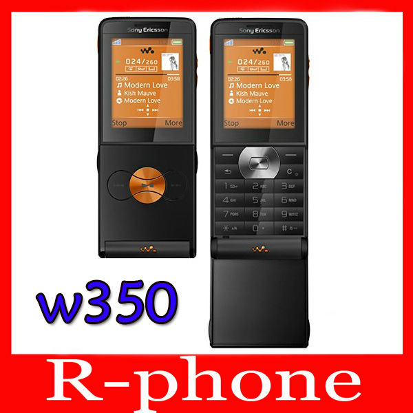 Original Unlocked Sony Ericsson W350 Cell Phone 1.3MP GSM Refurbished Cheap Phone(China (Mainland))