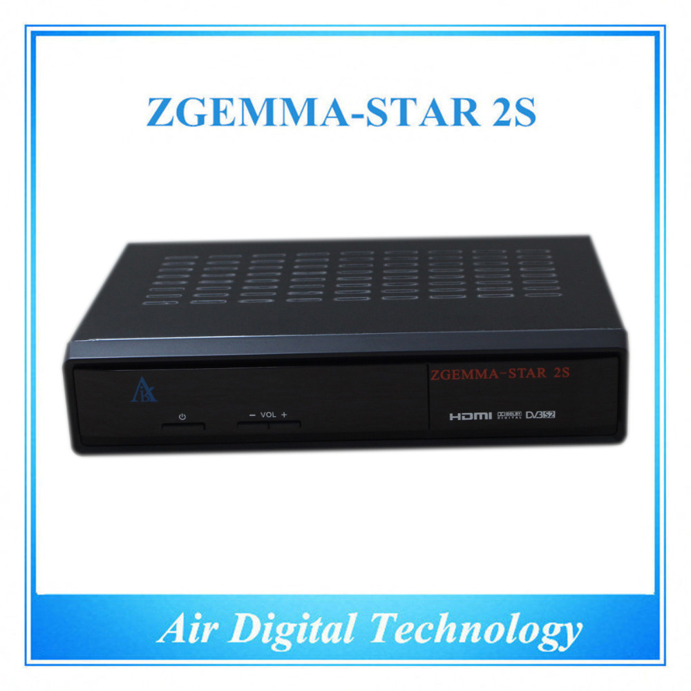 HD DVB S/S2 twin turner enigma 2 Linux Zgemma Star S2 Satellite receiver support cccam no dish with DHL delivery(China (Mainland))