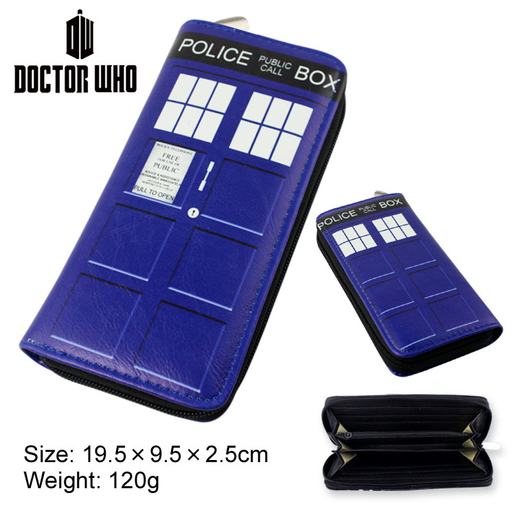 Doctor Who Wallets Cartoon Movie TV Dr Who PU Purse Toys Zipper Long Wallet cosplay money bag gift<br><br>Aliexpress