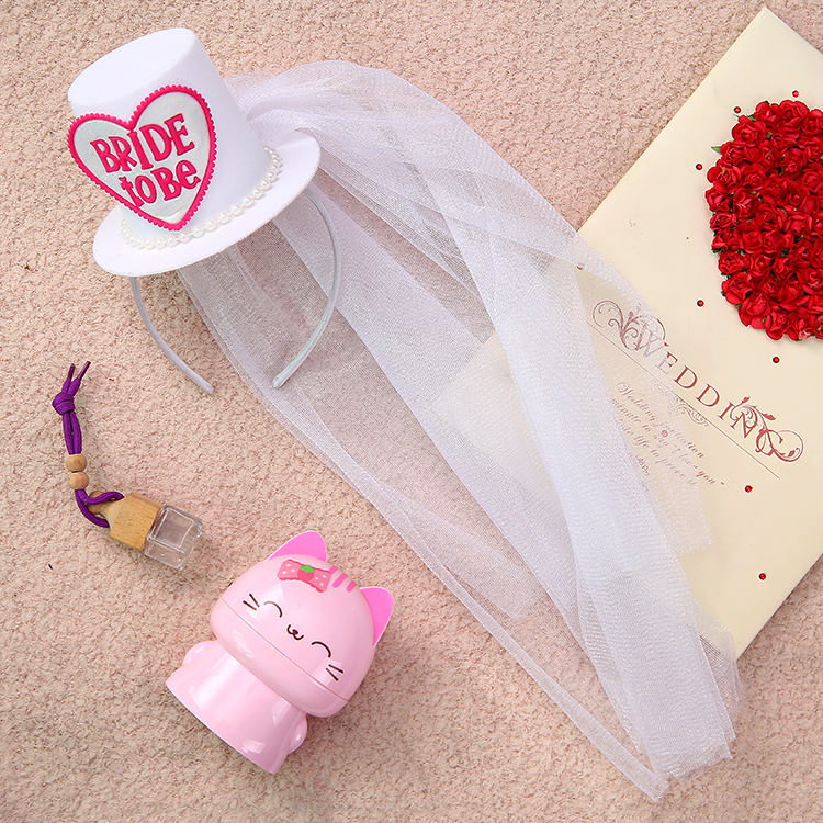 Свадебное украшение для волос NOTA PARTY top hat HP1501
