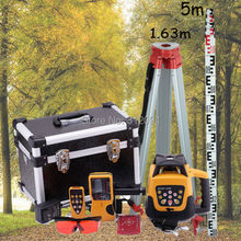 Electronic Self-Leveling Rotary Laser Level with Case Red Laser Level +Tripod