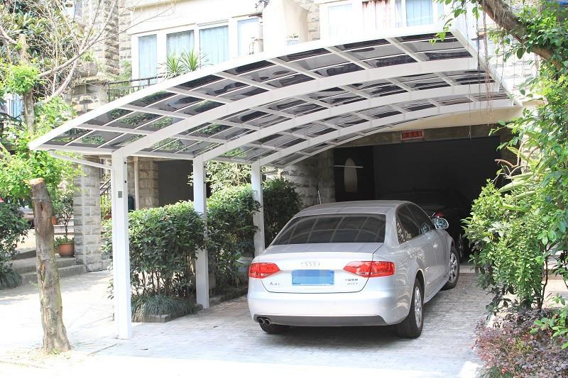 Alum Car Shelters : Mx m outdoor car shelter carport aluminum in