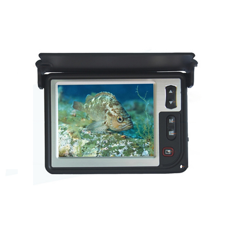 600TVL 3.5'' Color LCD Monitor Underwater Ice Video Fishing Camera System Visual Fish Finder LQ-3505T with 15m Cable(China (Mainland))