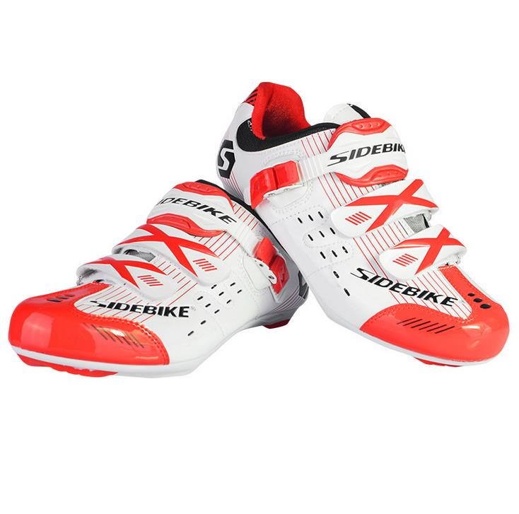 Фотография New Arrival SIDEBIKE Professional Women Road Bicycle Road Cycling Shoes self-lock locking Sapatilha Ciclismo Zapatillas