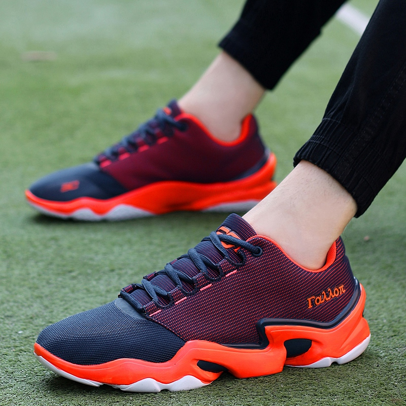 2016 Spring Autumn Red Bottom Shoes Men Trainers Sports Training Flats Men Damping Large Size 38-45 Breathable Sneakers Casual(China (Mainland))