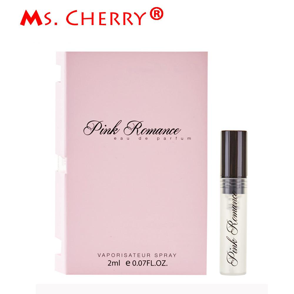 2ml Portable Liquid Perfume for Women Long-lasting Scent Deodorant Fragrance Antiperspirant Pink Romance MH025-07