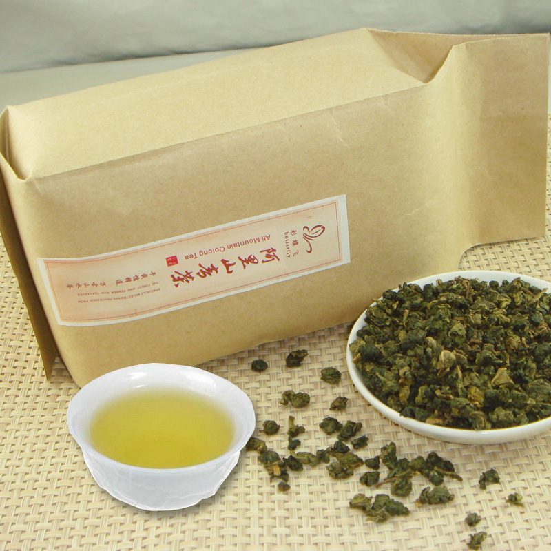 Taiwan Alishan Oolong Tea 400g Taiwan high mountain tea,free shipping<br><br>Aliexpress