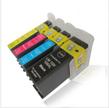 1Set Compatible for lexmark 100 100xl 105 105xl 108 108xl ink cartridge for lexmark s305 s308 s505 s508 s605 pro708  printer