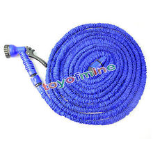 25ft 50FT 75FT 100FT Flexible Garden Water Hose Magic+Spray Gun Car Washing Pipe Retractable Rubber Watering Expandable Hose (China (Mainland))