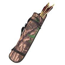 Good deal Outdoor Arrow Quiver Archery Arrow Holder Bow Portable 3 Point Harness Belt 71 20CM