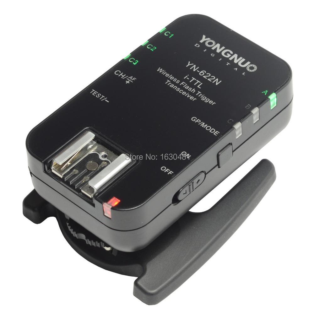 1PC Yongnuo YN-622N Wireless i-TTL YN 622 N Flash Trigger Receiver Transceiver For Nikon Camera(Hong Kong)