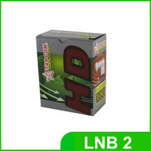 Double lnb ku  band Lnb for satellite receiver LNB 2 output(China (Mainland))