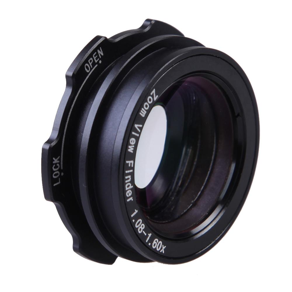 1.08x-1.60x Zoom Viewfinder Eyepiece Magnifier for Canon /Nikon /Pentax /Sony/Olympus/ Fujifilm /Samsung /Sigma SLR Camera(China (Mainland))