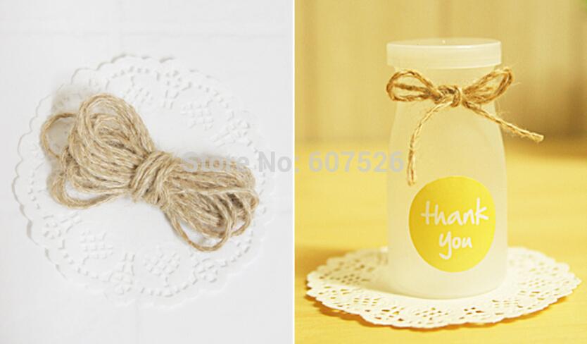 ! Dia.1.0mm 2Ply * 200m Craft Decorative jute hemp Twine 100% Premium Hemp Yarn Handmade Natural Rope - JLB International trade CO.,LTD Jewelry Store-NO. 1 store
