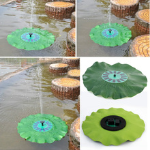 Big discount Floating Low Power Consumption Solar Fountain Pump Light for birdbath and garden decoration free shipping(China (Mainland))