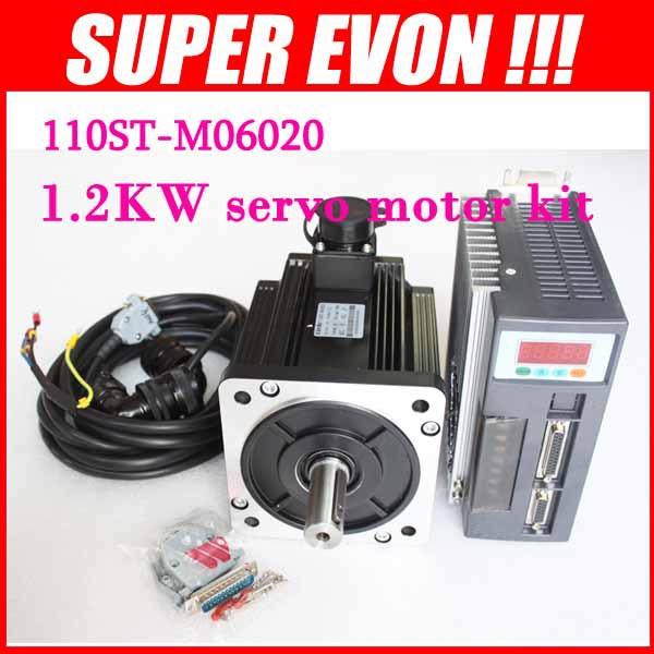 Buy 1 2kw Servo Motor Kit 110st M06020 Ac
