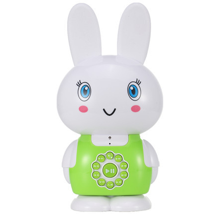 Toys Mini Cute Rabbit Infant Aids Early Learning Toys Childhood Story Songs Freeshipping Children Learning Machine Toy(China (Mainland))