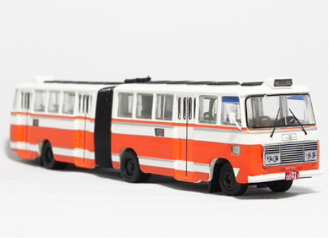 Shanghai Bus SK661F Articulated Buses 55 road Model Toy Free shipping(China (Mainland))