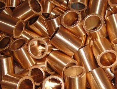 45*55*50mm  FU-1 Powder Metallurgy oil bushing  porous bearing  Sintered copper sleeve