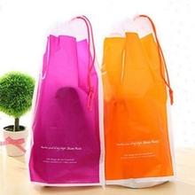2PCS Shoes Bag Wash Bag Sport Storage Travel Bag 22*40cm Waterproof Plastic Color As Picture(China (Mainland))
