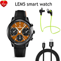 LEMFO LEM5 Android 5 1 OS 1GB 8GB Smart Watch Phone MT6580 Quad Core 1 39