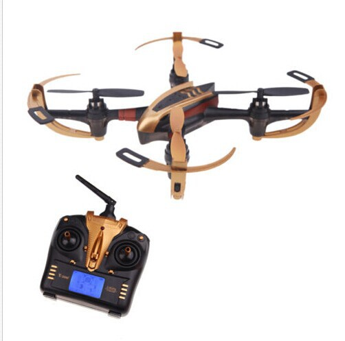 Free Shipping Original New Version Aerial Photography X4 2.4G 6 Axis 4CH RC Quadcopter RTF Magic UFO Kids Gifts(China (Mainland))