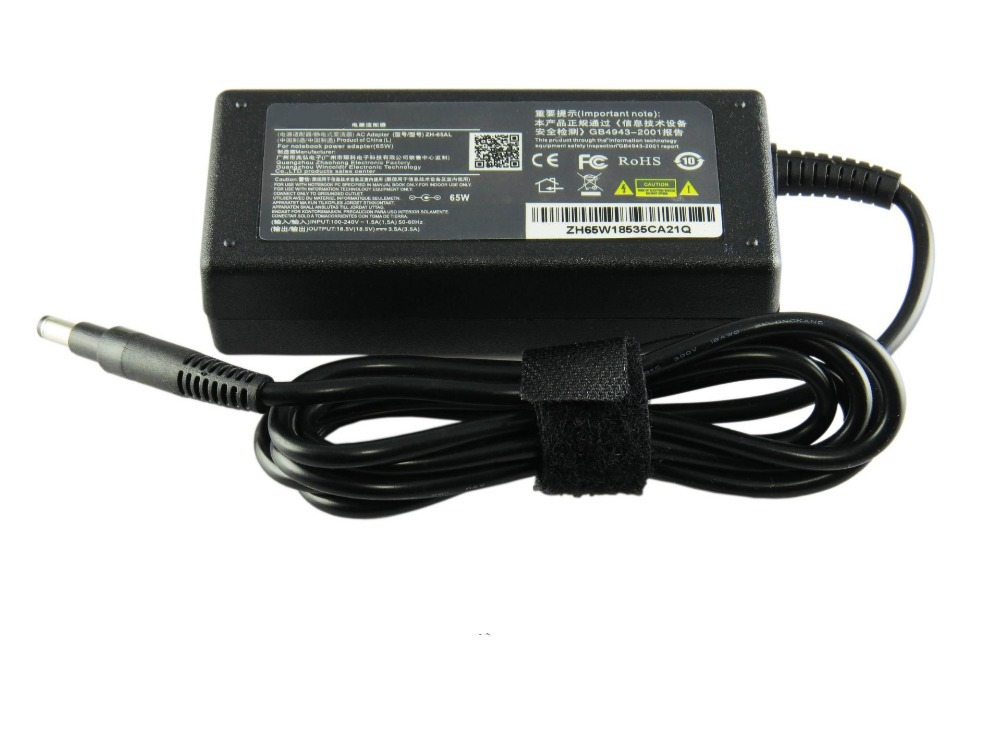 19.5V 3.33A 65W laptop AC power adapter charger for HP notebook HP ...