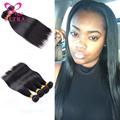 Free Shipping 7A Mocha Hair Company Peruvian Straight Virgin Hair 4Pcs New Star Puruvian Hair Bundles