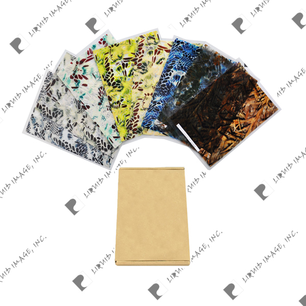 Liquid Image water transfer printing hydrographics film A3 size pack camo pattren(China (Mainland))