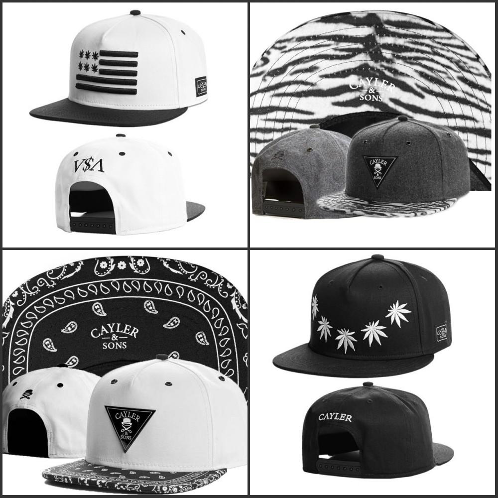 Swag style brand cayler and sons son snapback caps hip hop cap baseball hat hats for men women bones snapbacks bone gorras(China (Mainland))
