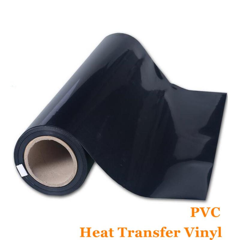 PVC Vinyl Transfer Paper and Heat Transfer Vinyl with Korean quality Black Color Vinyl Flex Flim 0.51cm*1m(China (Mainland))