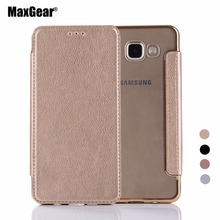Buy MaxGear TPU Soft Back Cover Leather Wallet Flip Pouch Case Samsung A3 A310F A5 A510 A510F A7 A710 (2016 Type) Capa Cover for $3.79 in AliExpress store
