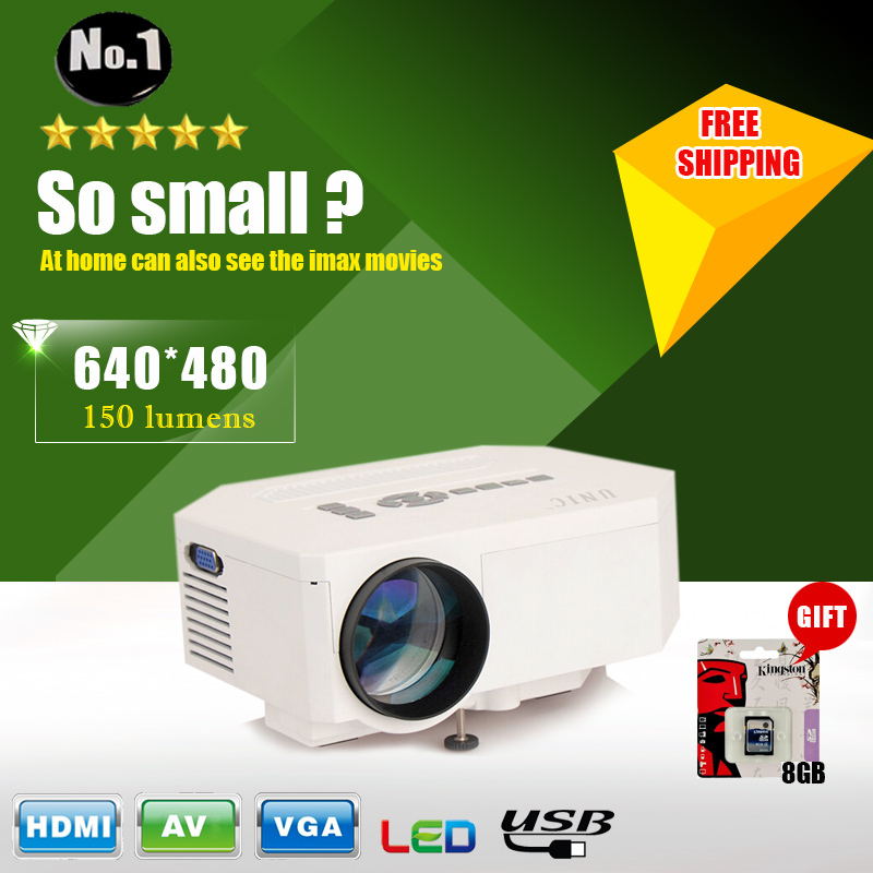 Free 8GB SD CARD UC30 HD Home Theater MINI Projector For Video Games TV Movie Support HDMI VGA AV Portable free shipping(China (Mainland))