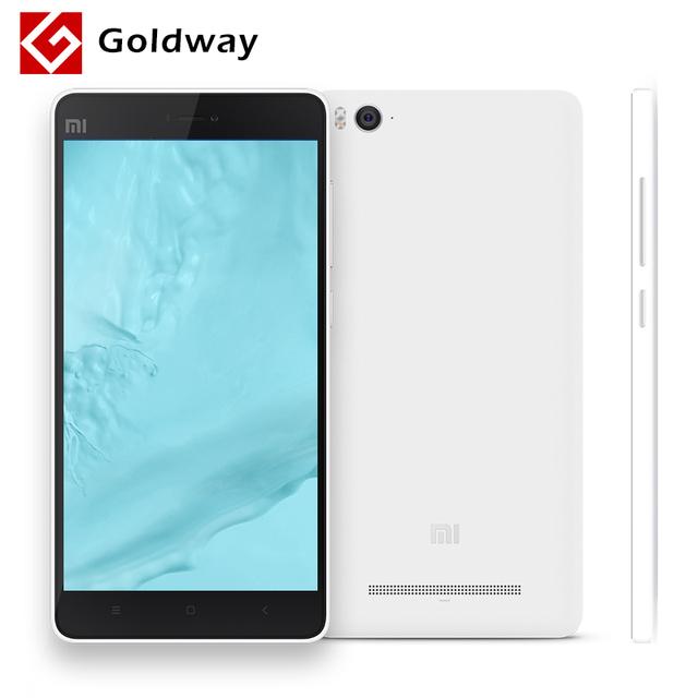 Оригинал Xiaomi Mi4c Mi 4c мобильный телефон 4G LTE Snapdragon 808 Hexa Core 5.0 дюймов 1920 X 1080 2 ГБ оперативной памяти 16 ГБ ROM 13MP 3080 мАч ИК MIUI