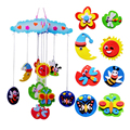 New Creative DIY Handmade EVA Craft Toy kits Windbell Hangings Stickers Educational Toys Puzzles Toy FCI