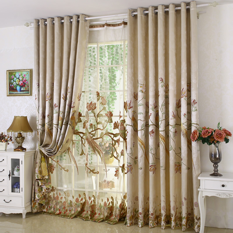 New Arrival Rustic Window Curtains For Living Room Bedroom Blackout Curtain Window Treatment