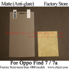 Matte Anti-glare Screen Protector Guard Cover protective Film Shield For Oppo Find 7 X9070 X9076 X9077 Find 7a X9000 X9006 X9007
