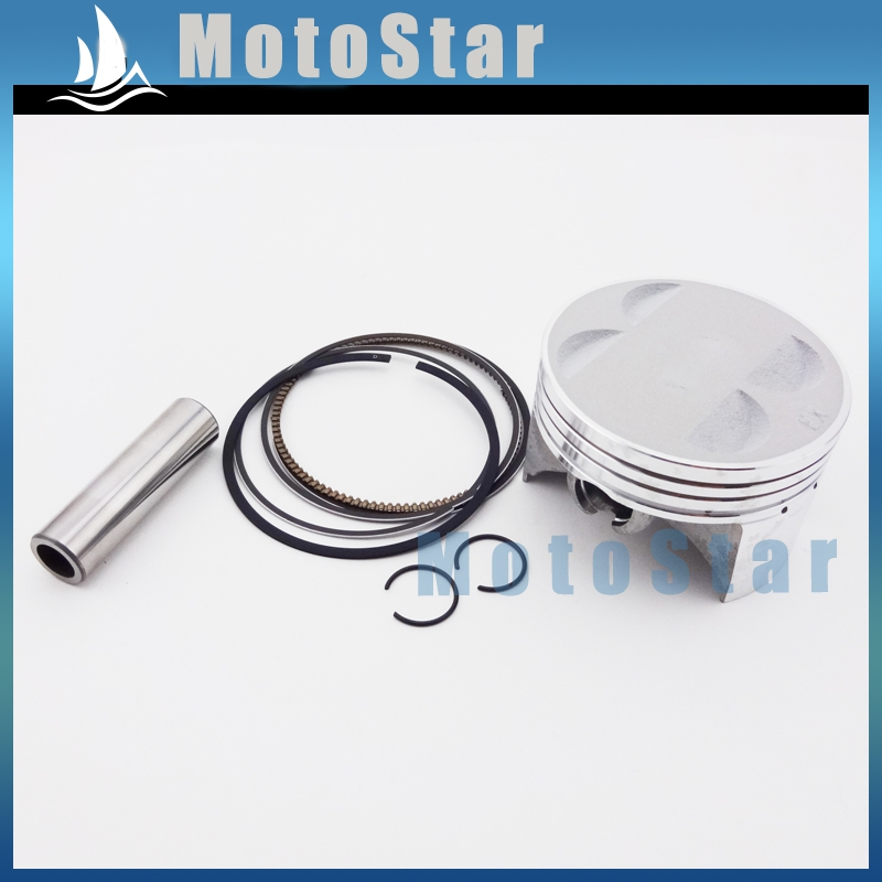 Piston Kit 60mm For Chinese YX 150cc Engine 4 Valve Cylinder Head For Pit Dirt Motocross Motorcycle Motard Motor Bike(China (Mainland))