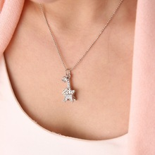 Brand Fashion Paris Eiffel Tower Pendant Crystal rhinestone necklace short bead necklace New Women Jewelry Gifts