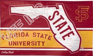 Florida State University Flag NCAA 3ft x 5ft Polyester Banner Flying 150* 90cm Custom flag sport helmet FSU5(China (Mainland))