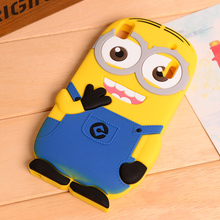 K3 note Cartoon Minions Minnie Winnie Despicable Me 3D Silicon Soft back cover phone Case for Lenovo K3 note K50-t5