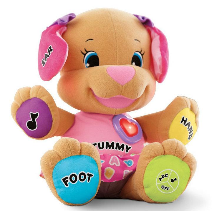 Musical Dog Baby toys PlushToys Learning Eduction toys Pelucia Cute dog dolls Singing English Songs Electronic pets Kid toys(China (Mainland))