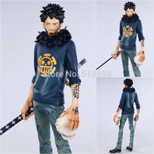 Anime Cartoon One Piece Trafalgar Law After 2 Years PVC Action Figure Collection Model Toy 11″ 27CM Free Shipping OPFG339