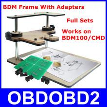 Nouveau Top connexes BDM cadre avec Aapters travaux pour BDM programmeur / CMD 100 ensembles complets convient pour origine FGTECH B Version CNP gratuit(China (Mainland))