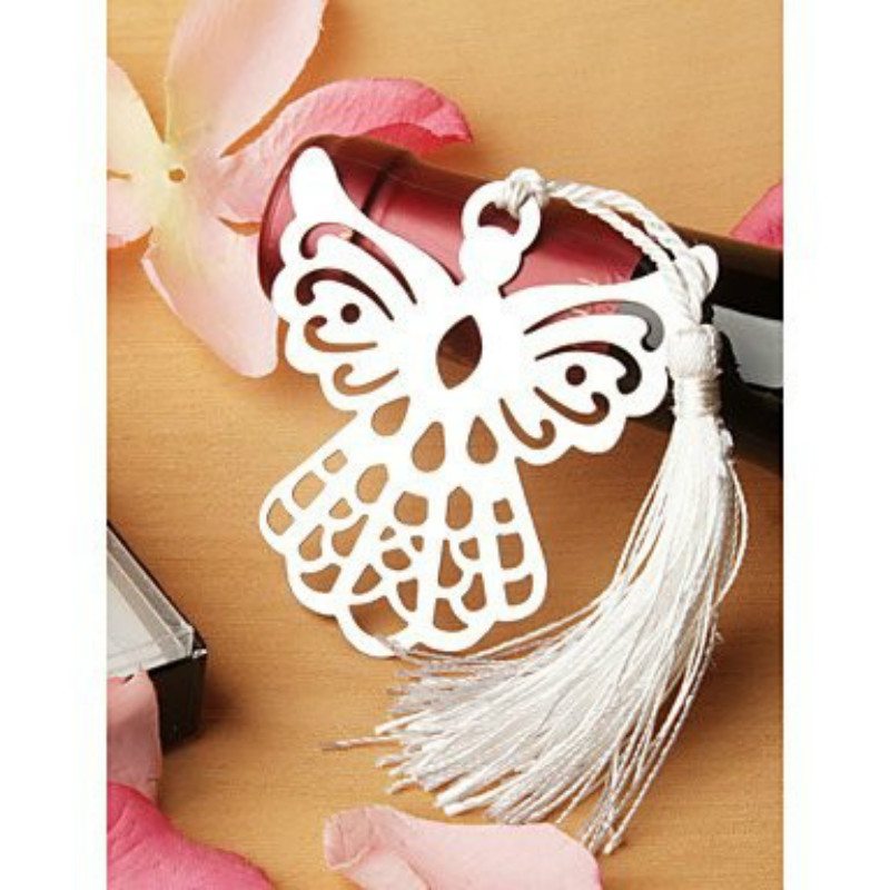 10pcs Angel Metal Bookmark Book Lovers Collection Souvenirs Gifts For Guests Bridal Baby Shower Wedding Party Favor(China (Mainland))